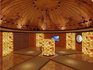 蒙古包盐浴房